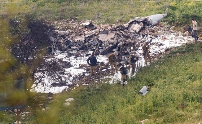 İsrail F-16'sı düştü, Suriye'de gerilim yükseldi