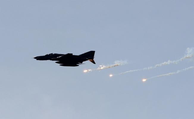 Kuzey Irak'a hava harekatı: 8 hedef imha edildi