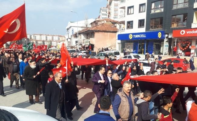 Mehmetçik için Başkent'te kurban kestiler