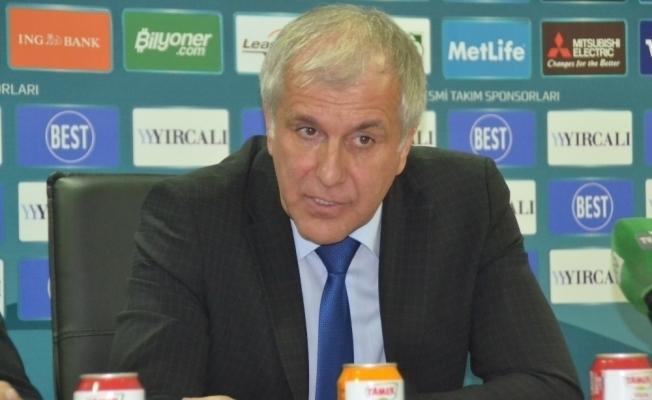 """Obradovic: """"Çok önemli bir galibiyetti"""""""