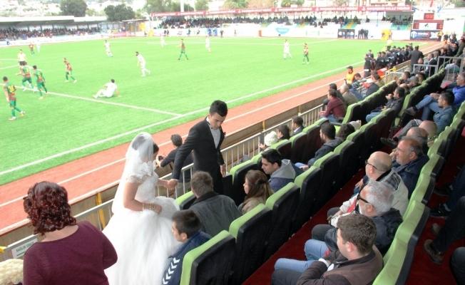 Önce maç, sonra nikah