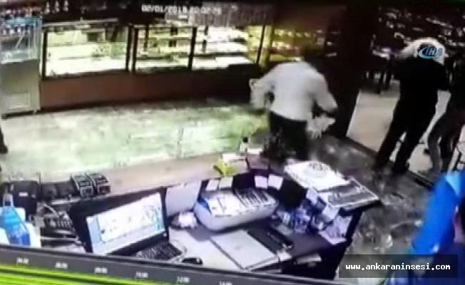 Patlamadan böyle kaçtılar