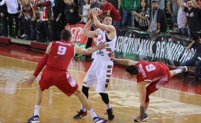 Pınar Karşıyaka Monaco'yo devirdi