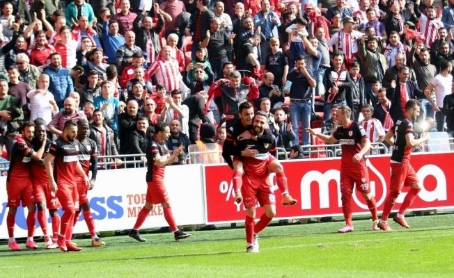 Samsunspor tek golle kazandı
