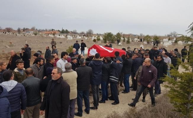 Şehit polis gözyaşlarıyla son yolculuğuna uğurlandı