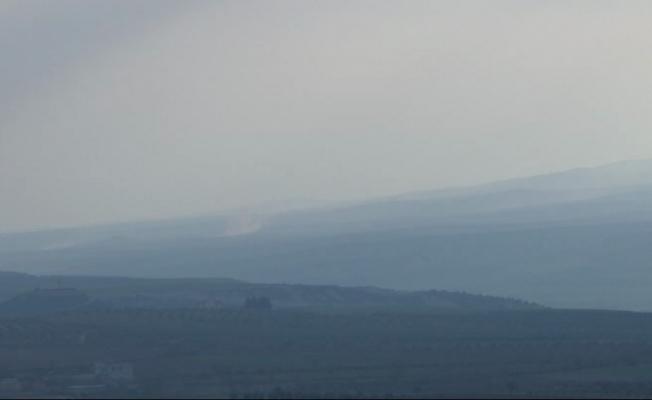 Şeyh Horoz bölgesindeki terör hedefleri vuruluyor