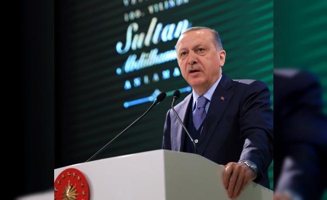 Sultan Abdülhamid'in sözleriyle Zeytin Dalı'nı değerlendirdi