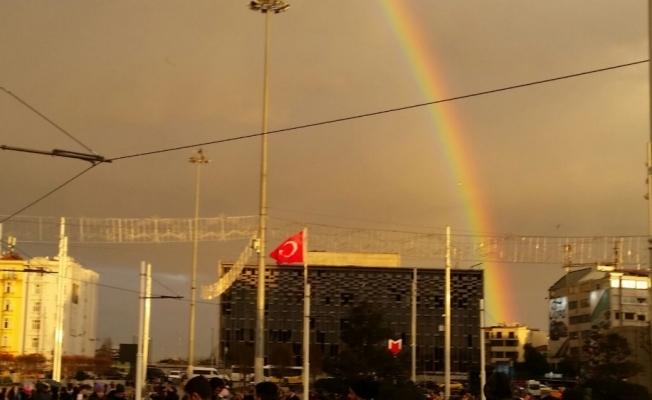 Taksim'de eşsiz manzara