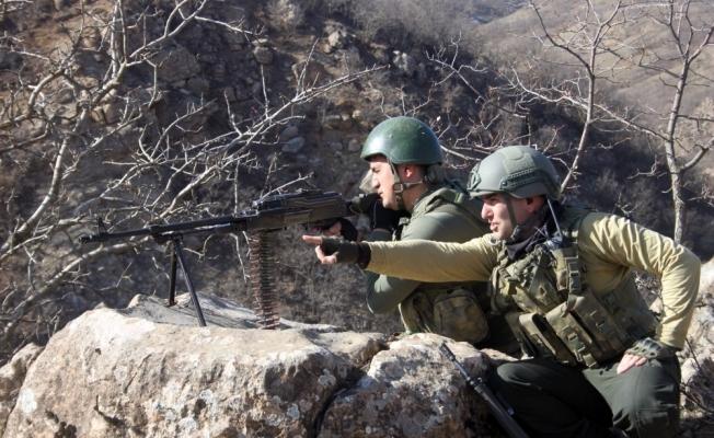 Teröristlerin kış üslenme alanlarına yönelik operasyonlar devam ediyor