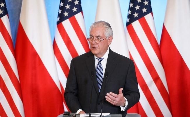 Tillerson: YPG'ye ağır silah vermedik
