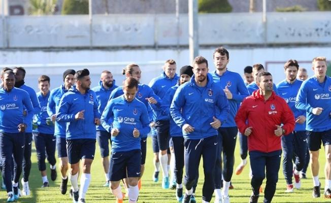 Trabzonspor Başakşehir maçı hazırlıklarını sürdürdü