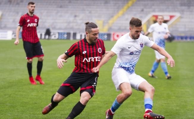 Trabzonspor beraberlik serisinde