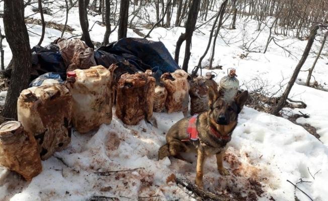 Tunceli'de 4 sığınak imha edildi, 150 kiloluk patlayıcı ele geçirildi