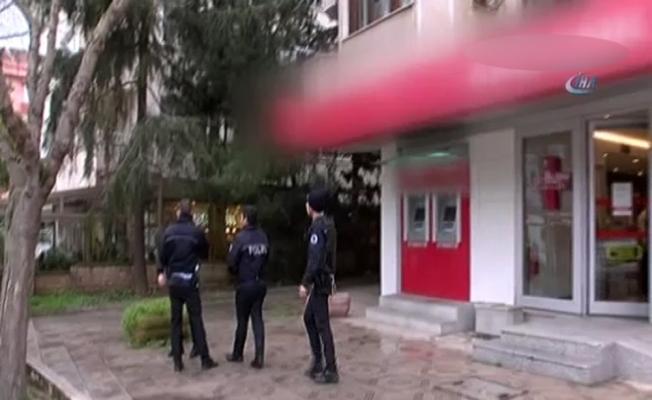 Üsküdar'da silahlı banka soygunu