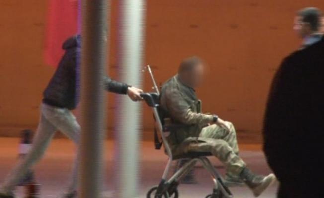 Yaralanan askerler Kırıkhan Devlet Hastanesine getirildi