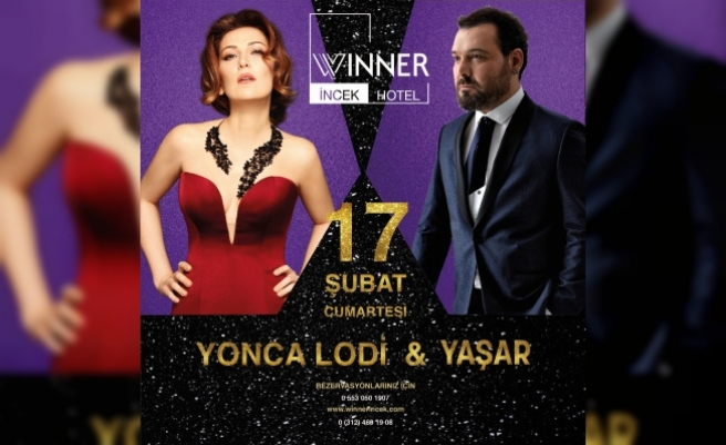 Yaşar ve Yonca Lodi Ankaralı hayranlarıyla buluşacak
