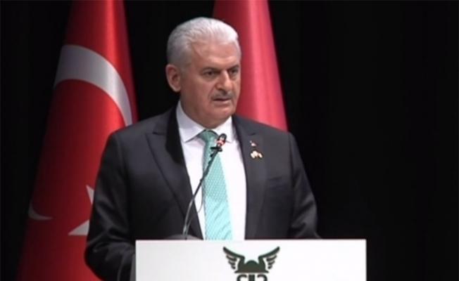 Yıldırım Türkiye-Belarus İş Forumu'nda konuştu
