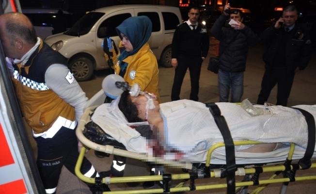 5 aylık hamile olan eski eşini vurdu