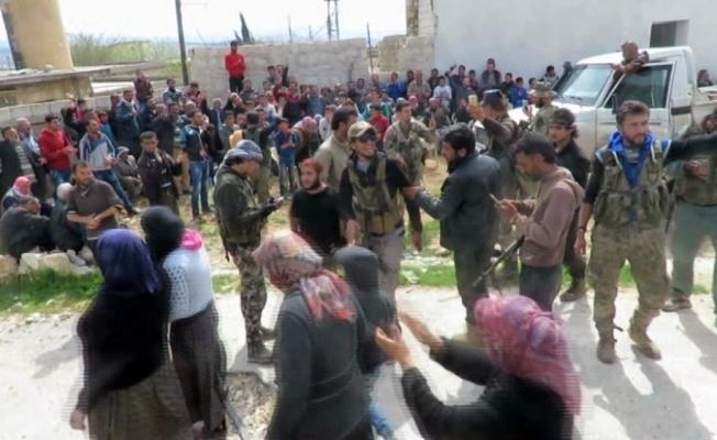 Afrin köylerinde ÖSO'ya sıcak karşılama