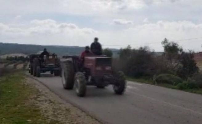 Afrin'de Suriyeliler köylerine dönmeye başladı