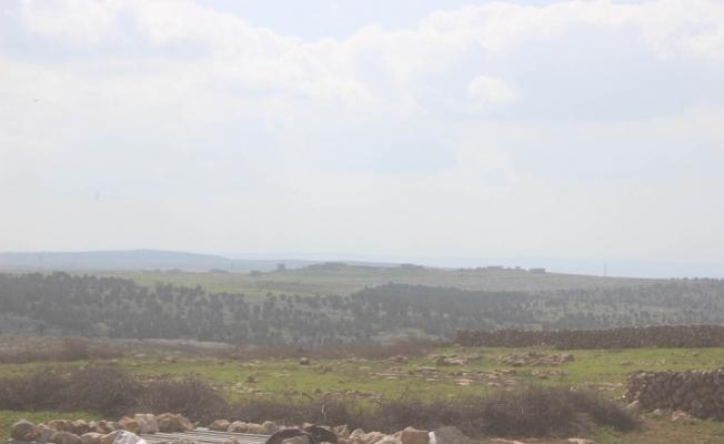 Afrin'e 600 metre kaldı