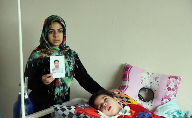 Batan teknede eşini kaybetti, oğlu yaşam savaşında