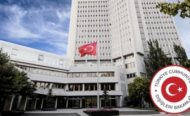 Dışişleri Bakanlığı DEAŞ saldırısını kınadı