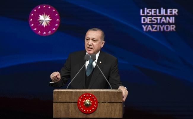 Erdoğan'dan AP'ye cevap: İşimiz bitmeden oradan çıkmayacağıız