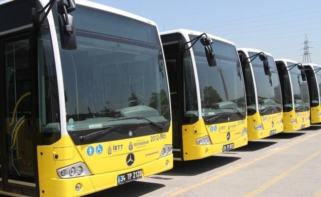 Eyleme katılan otobüs işletmecilerine yasal işlem