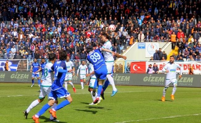 Gol düellosunda kazanan Erzurum