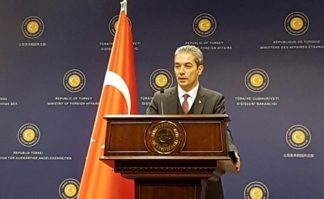 Hami Aksoy'dan BAE Dışişleri Bakanına sert tepki