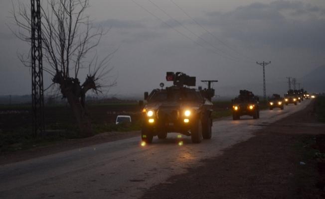 Hatay'a giriş yapan komandolar sınır birliklerine ulaştı