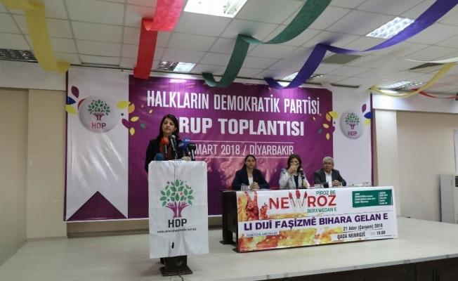 HDP grup toplantısı Diyarbakır'da yapıldı