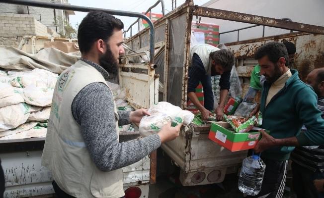 İHH İnsani Yardım Vakfı Afrin'de