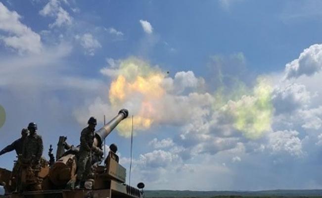 """""""Irak kuzeyi Hakurk/Kani Rash operasyonu topçu birlikleri tarafından destekleniyor"""""""