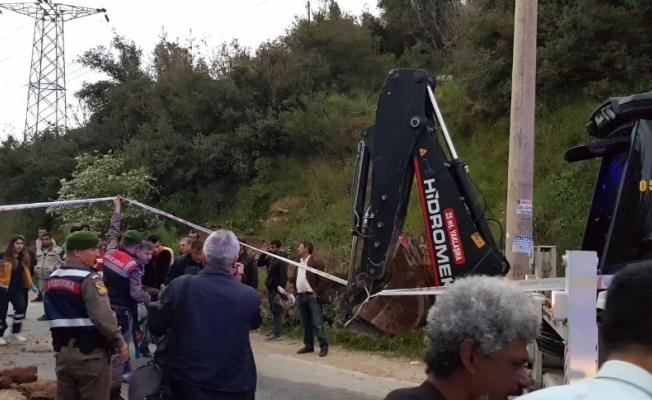 Kanalizasyon çalışmasında göçük: 1 ölü, 1 yaralı