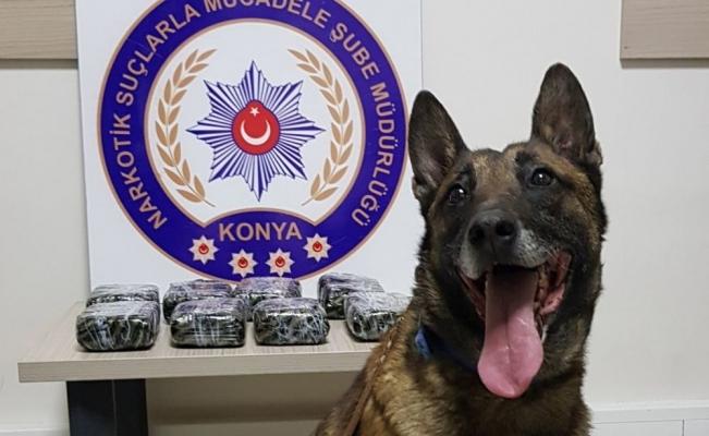 Konya'da 4,5 kilo eroin ele geçirildi: 5 gözaltı
