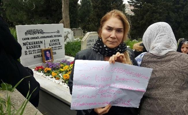 Mezdeke grubu üyesi Aynur Kanbur için adalet çağrısı
