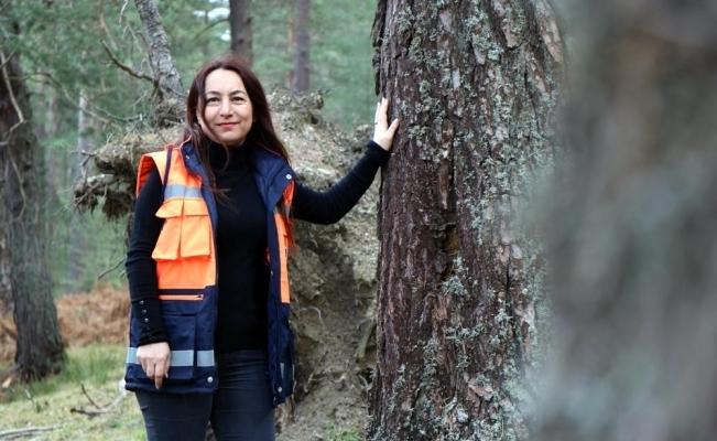 Ormanlar Burçin müdüre emanet