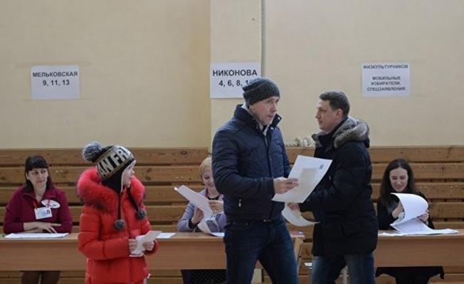 Rusya'da 7 oy merkezinde seçim sonuçları iptal