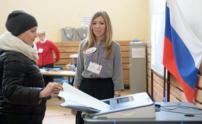 Rusya'da oy verme işlemi sona erdi