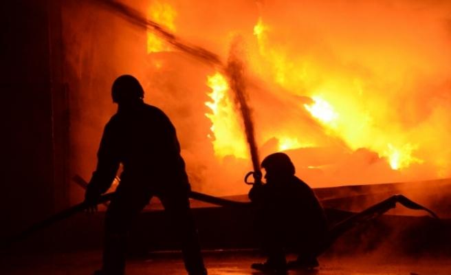 Yangında yaralanan yaşlı adam hayatını kaybetti