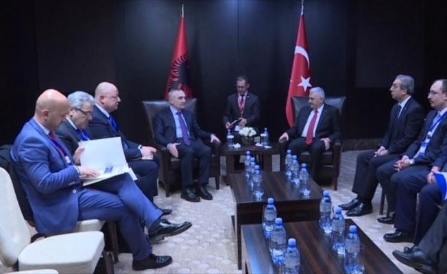 Yıldırım, Arnavutluk ve Moldova Cumhurbaşkanlarıyla görüştü
