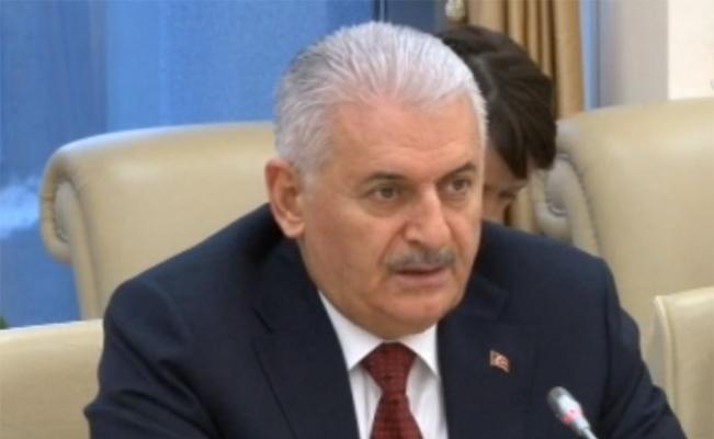 Yıldırım Azerbaycan Milli Meclis Başkanı Asadov ile görüştü