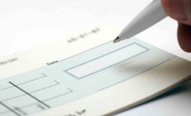 Bankalara ibraz edilen çek tutarı 218 milyar TL oldu
