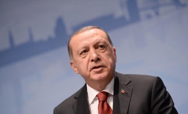 Erdoğan uyum komisyonu üyeleri ile bir araya geldi