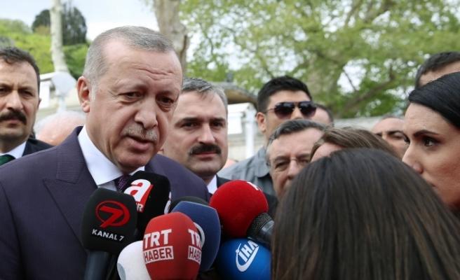 Erdoğan'dan olaylı derbi yorumu: Kumpas var