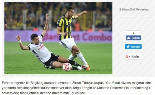 Fenerbahçe: Tolga Zengin ve Mustafa Pektemek tahrik etti