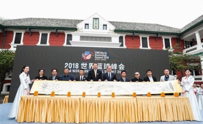 FIBA Dünya Basketbolu Zirvesi ilk kez Çin'de yapılacak