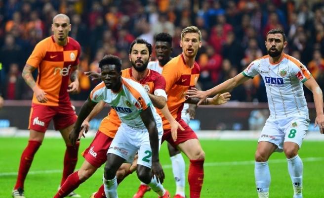 Galatasaray ile Alanyaspor 4. randevuda